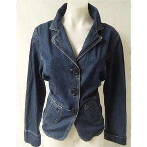 Jean Jacket Size Large